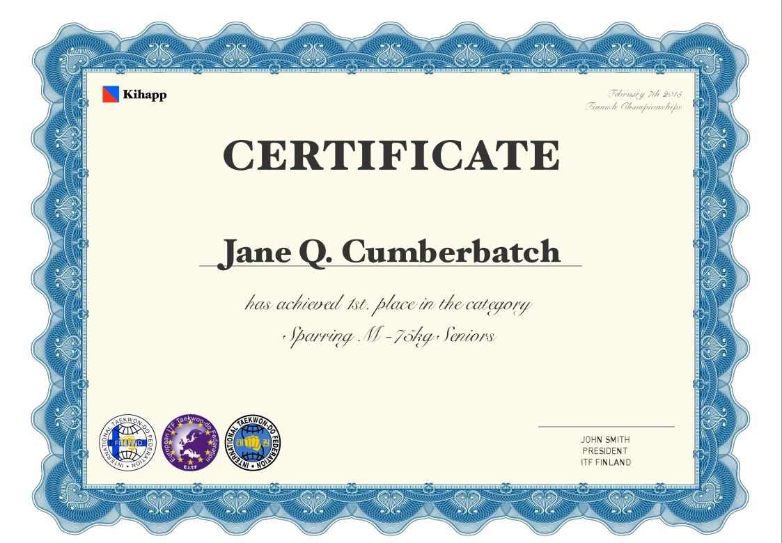 Certificates bf0ef3328df76353c9a228e34b9a0aec357d79b2e84b69500d073ffe13503fbf